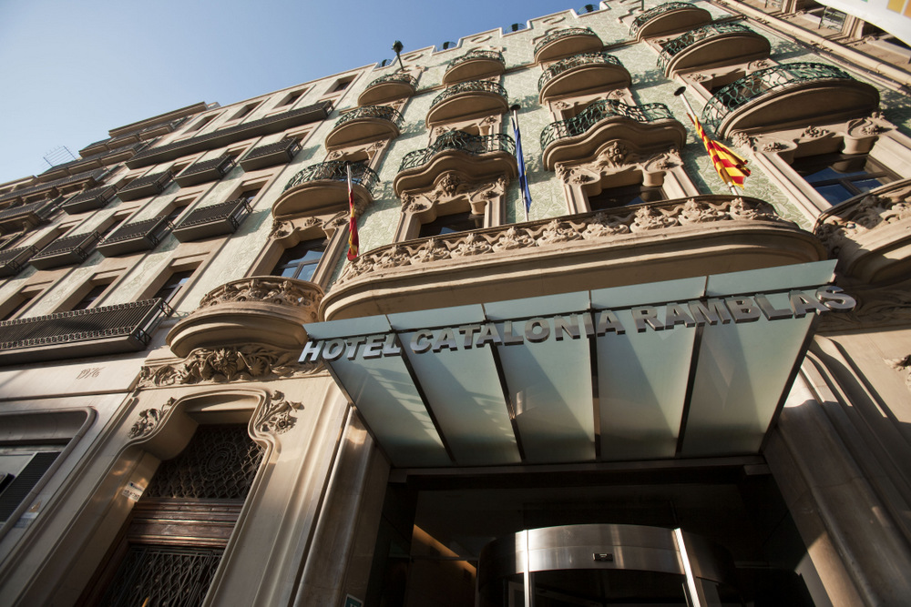 Auditorio Hotel Catalonia Ramblas Испания Барселона