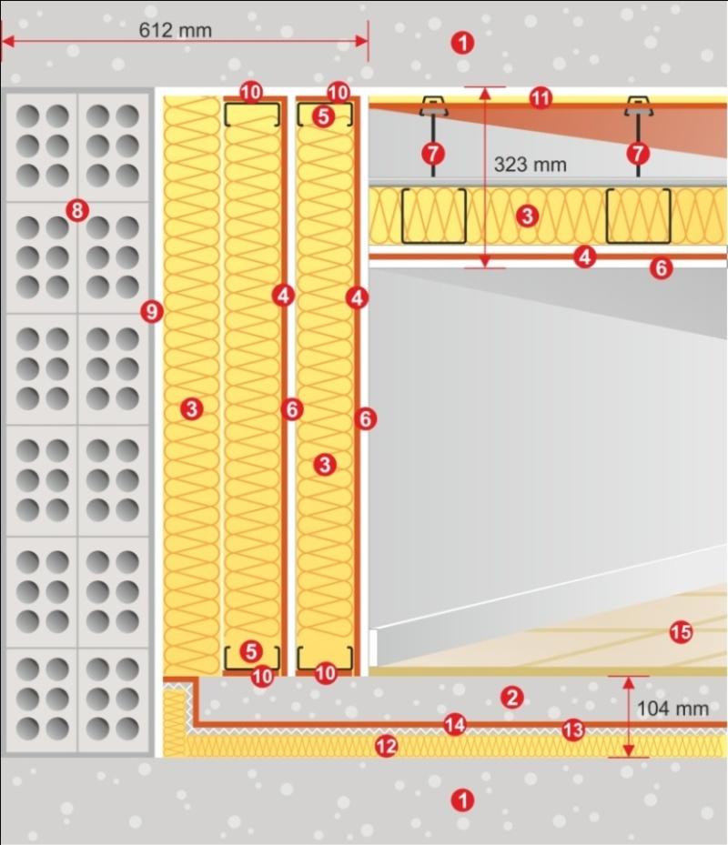 Cистема для звукоизоляции кинотеатров CN-1