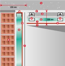 Система звукоизоляции потолка FT-1