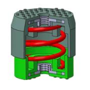 Виброизоляторы телескопические SOLECO
