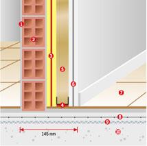 Система звукоизоляции межквартирных перегородок TR-1